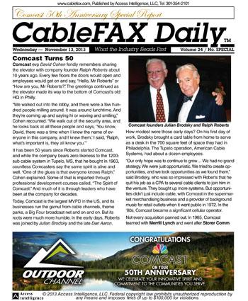 comcast 50th anniversary