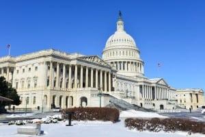 Congress building in Washington, DC