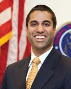 FCC commish Ajit Pai