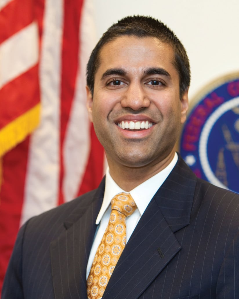 FCC commish Ajit Pai