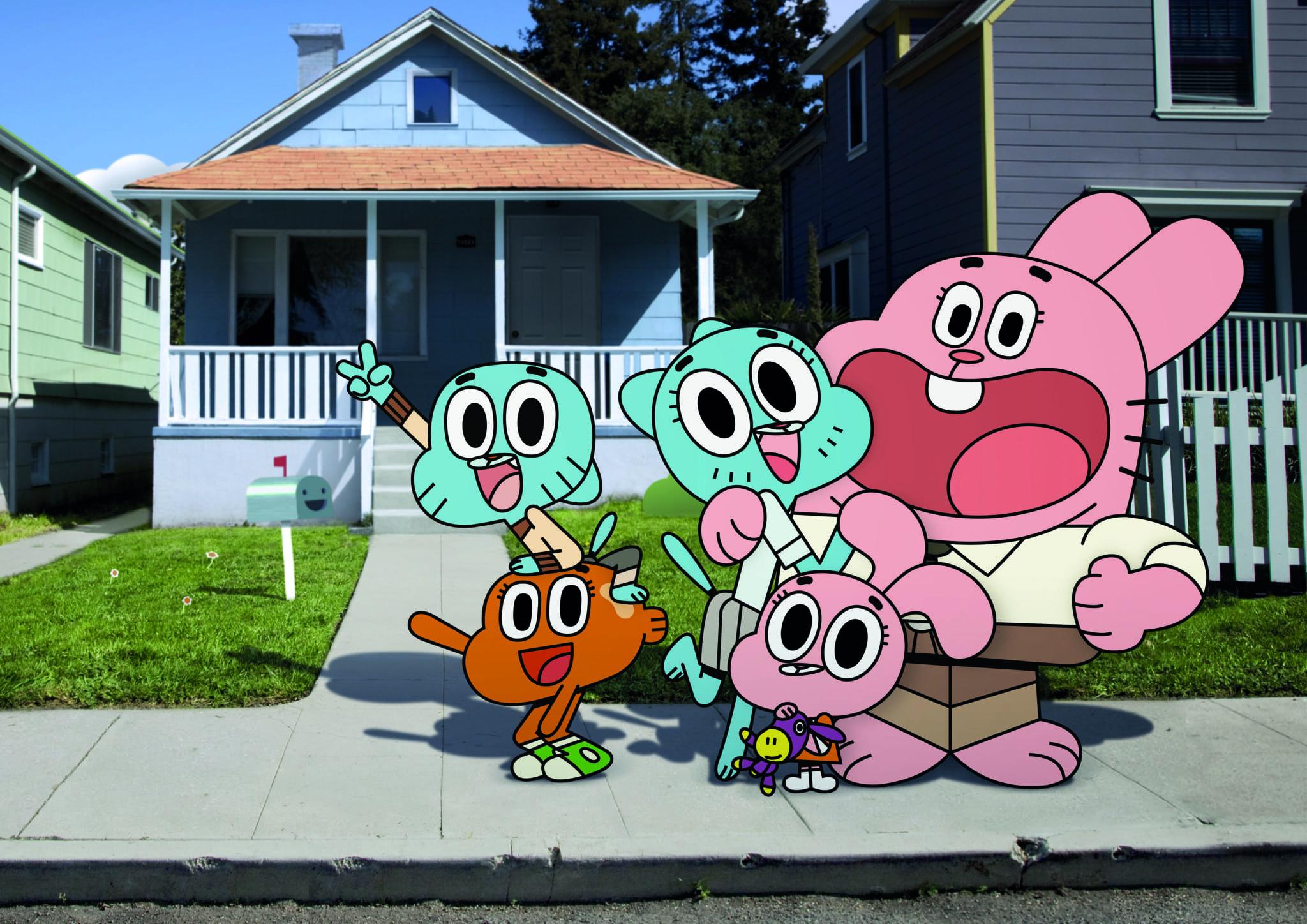 "Cartoon Network's ""The Amazing World of Gumball"""