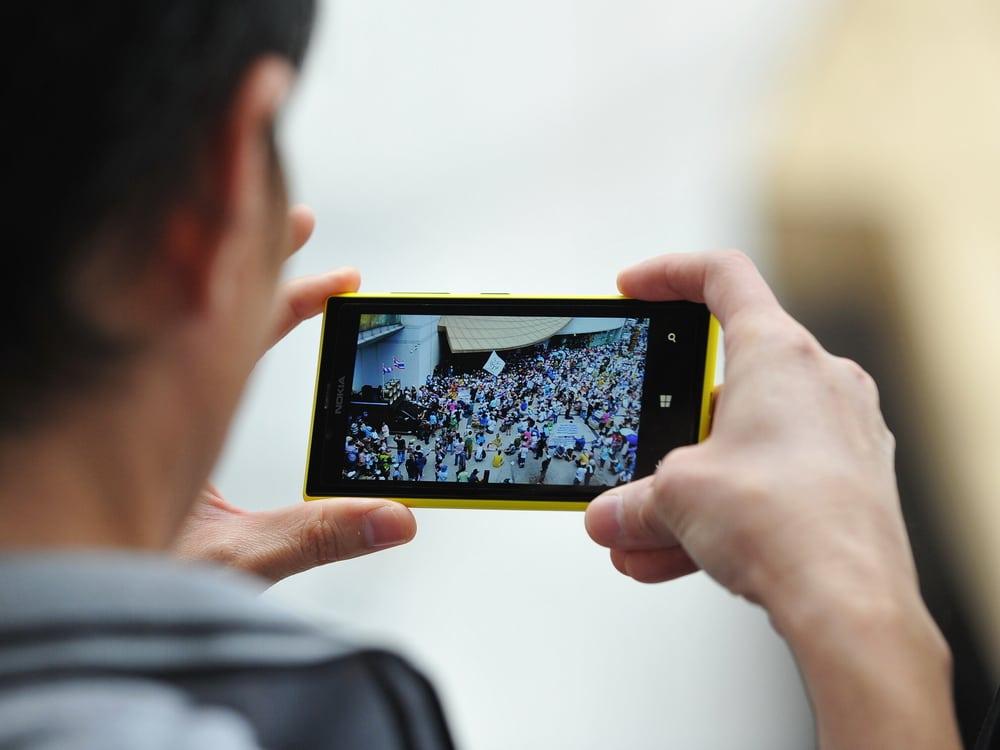 smartphone CTA