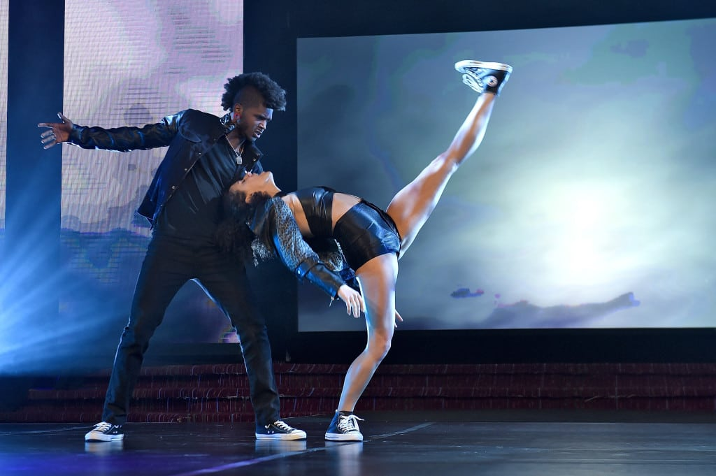 """""""So You Think You Can Dance"""" performers at the 31st Annual Walter Kaitz Foundation Fundraising Dinner."""