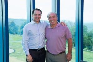 (l-r) Joseph Commisso and Rocco Commisso.