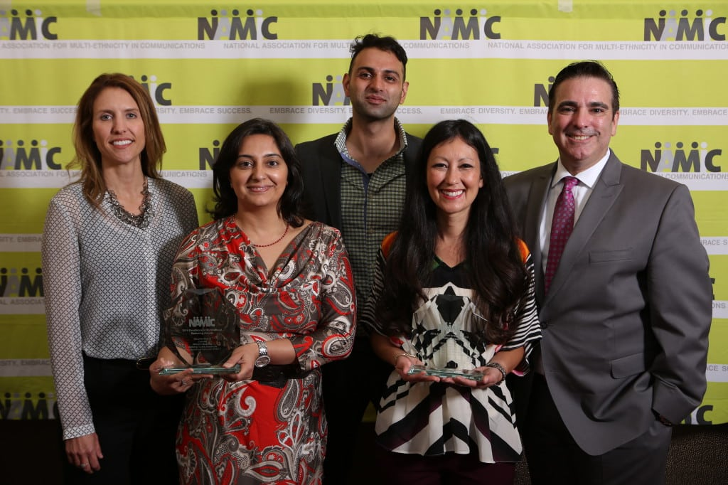 EMMA winners at the NAMIC Conference.