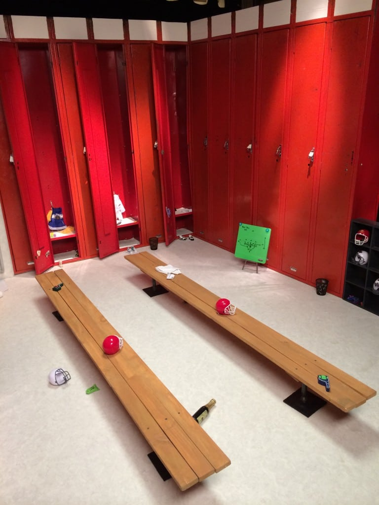 What would a Kitten Bowl be without a locker room?