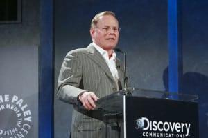 Discovery Comm's president and CEO David Zaslav