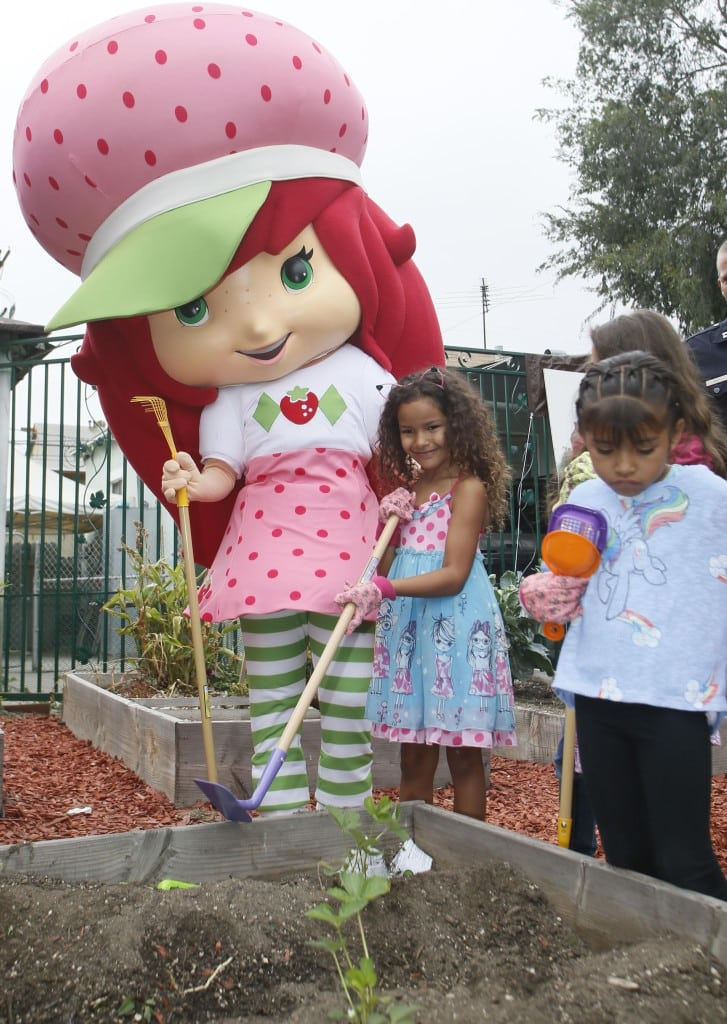 Child star Kaya Rose Davis was among the VIPs that showed up to join Discovery Family Channel's Strawberry Shortcake and Cherry Jam.