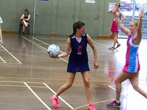 hayley netball