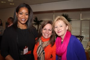 (L to R) Alaka Williams, Scripps Networks Interactive; Maria Brennan, WICT; Martha Soehren, Comcast.