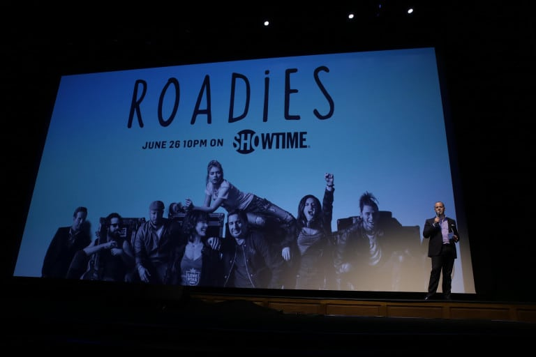 "David Nevins, President and CEO, Showtime Networks at Showtime's ""Roadies"" Premiere at The Theatre at ACE Hotel on Monday, June 6, 2016, in Los Angeles. (Photo by Eric Charbonneau/Invision for Showtime/AP Images)"