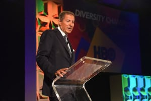 Richard Plepler, HBO CEO, accepts the Diversity Champion award onstage at the 34th Annual Walter Kaitz Foundation Fundraising Dinner at Marriot Marquis Times Square on September 27, 2017 in New York City. (Photo by Larry Busacca/Getty Images for The Walter Kaitz Foundation)