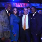 James Brown of Revolt Media, Michael Powell, President & CEO at NCTA, and P. Diddy attend the 34th Annual Walter Kaitz Foundation Fundraising Dinner at Marriot Marquis Times Square on September 27, 2017 in New York City. (Photo by Larry Busacca/Getty Images for The Walter Kaitz Foundation)