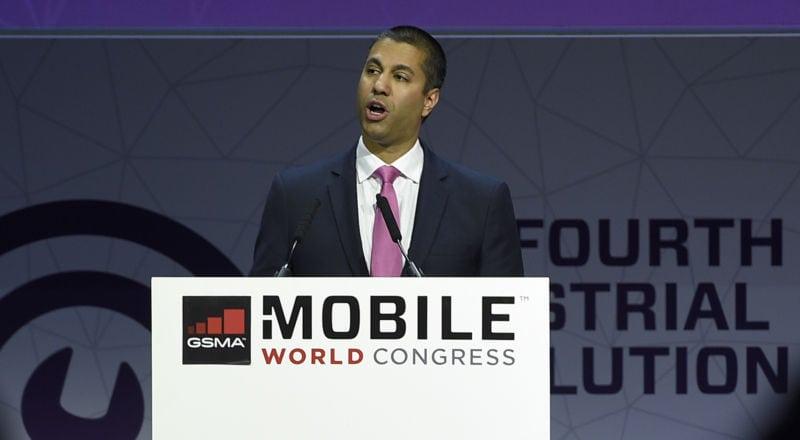 Ajit Pai Mobile World Congress
