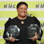 """BET Networks was awarded two EMMA awards for their guerilla marketing campaign behind the BET Awards and their """"The Quad HBCU Campaign."""" (Photo courtesy of NAMIC, Inc./Paul O'Reilly)"""