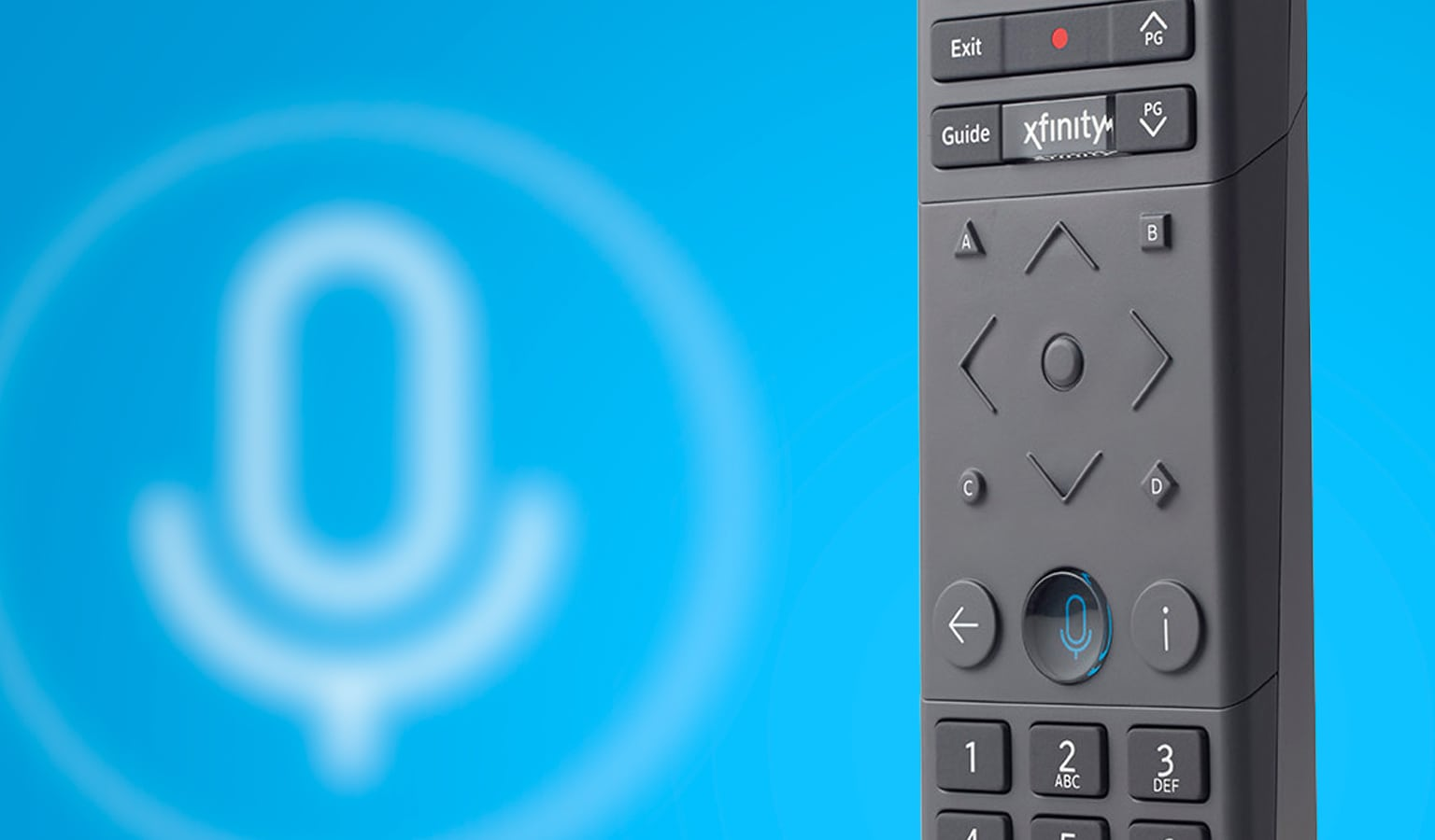 Comcast Showcases Redesigned X1 Voice Remote