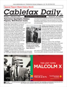 Cablefax BHM Special Report