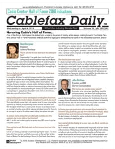 CFX Special Report Cable Hall of Fame