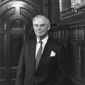 """Cable TV giant and philanthropist H.F. """"Gerry"""" Lenfest, 88, passed away on August 5. Pictured in 2001."""