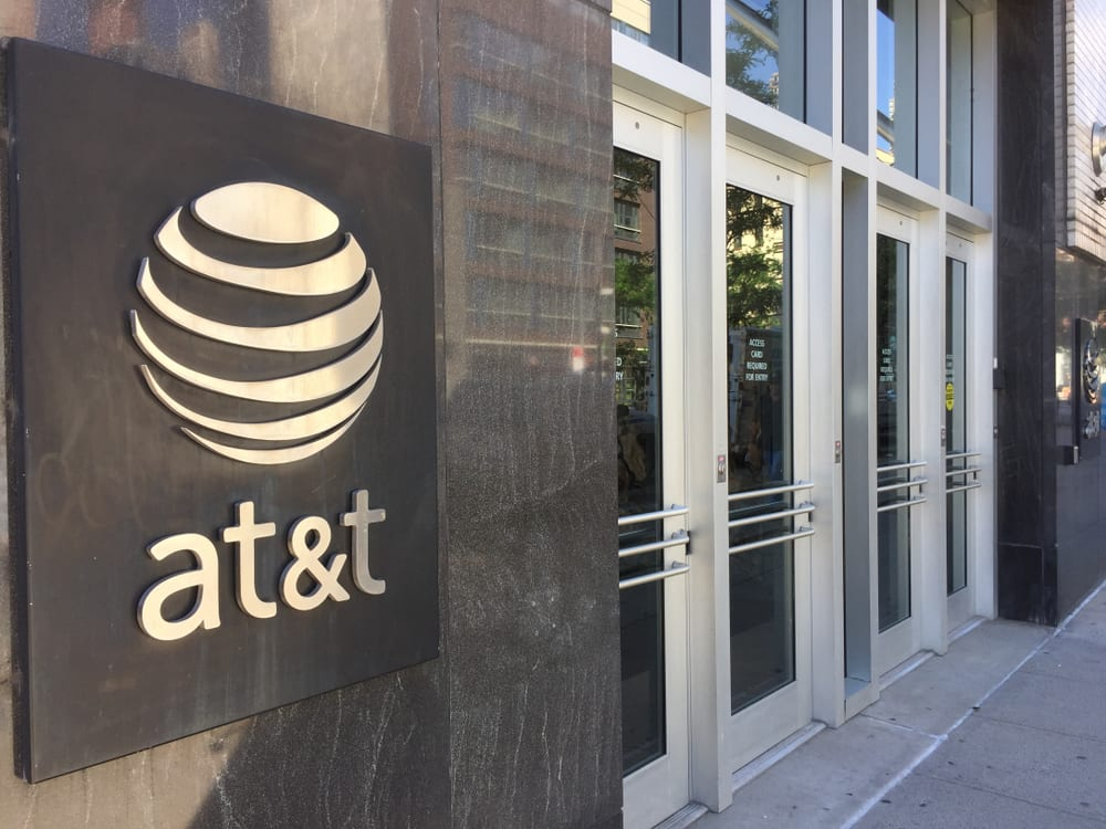 AT&T building exterior 2018