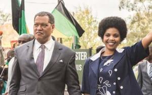 Laurence Fishburne and Terry Pheto star in BET's 'Madiba.'