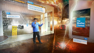 The Weather Channel Transforms Forecasting Through Immersive Mixed Reality (IMR) Storytelling