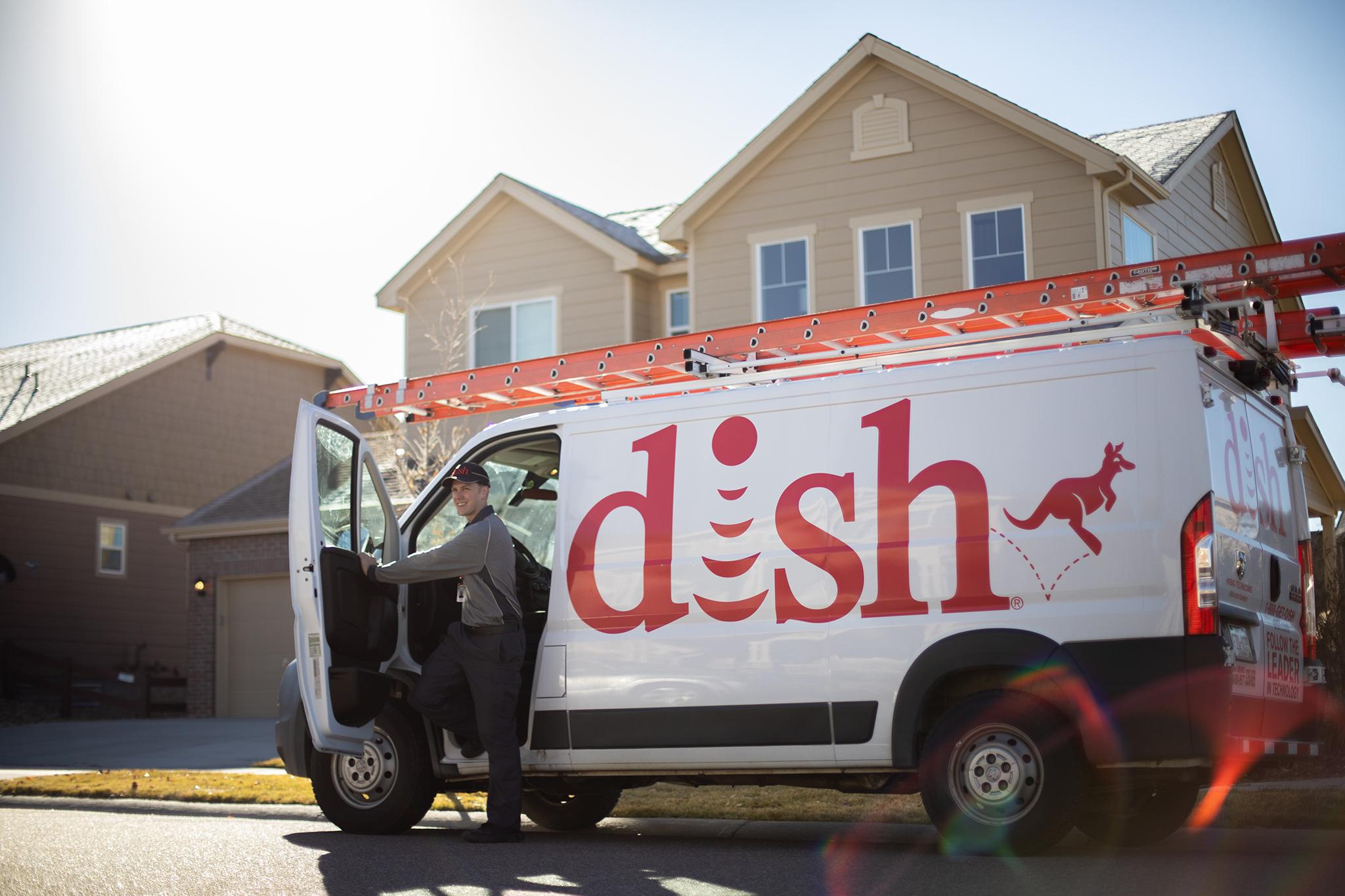 Dish Van