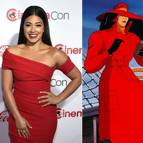 Gina Rodriguez as Carmen Sandiego