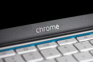 Chromebook stock image