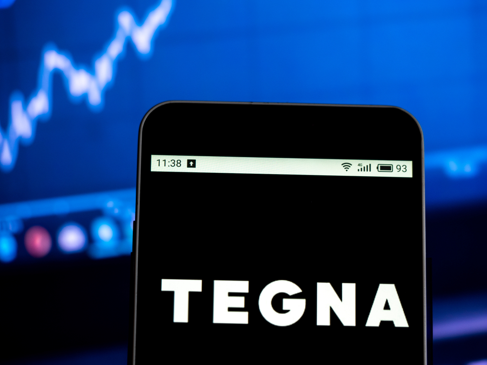 Tegna on phone
