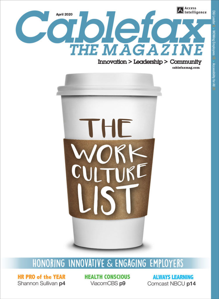 Cablefax Magazine Work Culture List 2020