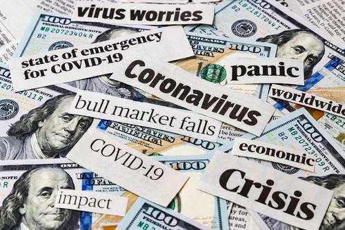 Cornonavirus headline stock image