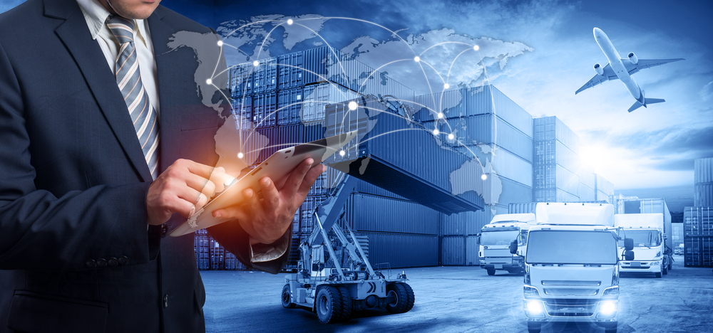 Supply Chain stock image