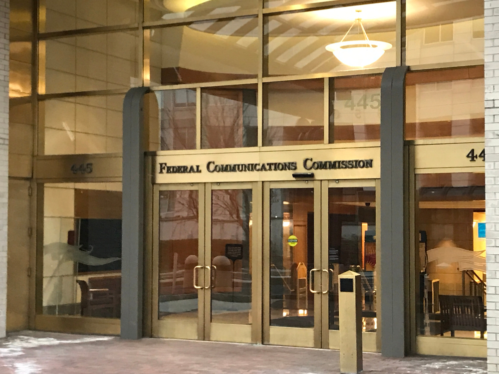 Federal Communications Commission Entrance