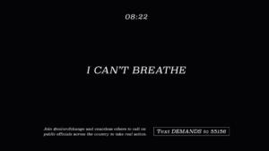 viacomcbs I can't breathe