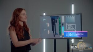 Charter's holographic demo.