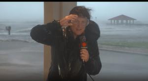 Hurricane Delta Eyewall Live Coverage