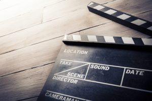 Production clapboard