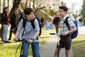 "Nasim Pedrad and Jake Ryan in ""Chad"""