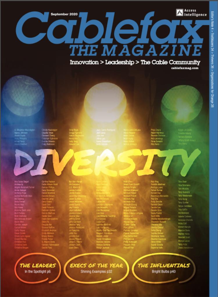Cablefax Magazine Diversity Issue 2020