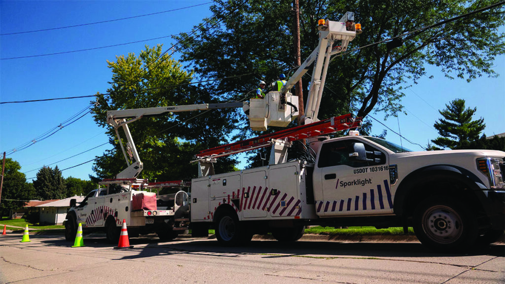 Cable One trucks